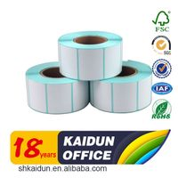 Thermal paper self adhesive label sticker