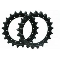 PC20/PC30-5 undercarriage parts sprocket for sale