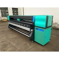 3.2m High Speed Eco Solvent Printer with Industrial heads Ricoh GEN5i 3.5PL 1280nozzles 4channels 55 thumbnail image