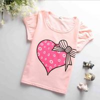 Lovely High quality 100% cotton printed child t shirt OEM thumbnail image