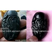 Carbon black pigment paste for tinting
