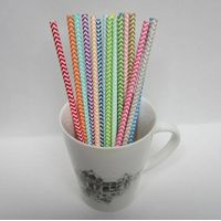 Wholesale Different Design Party Drinking Paper Straws