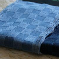 Check Pattern Denim FabricIndigo Denim Fabric price