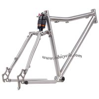 Suspension Titanium Bike Frame HLS001