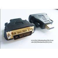 DVI(24+1) male to HDMI male