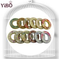 Home decoration curtain ring eyelet curtain with rings