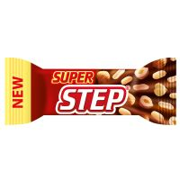 Super Step Russian candy peanuts nougat milk frosting