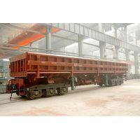 100t side dump railway wagon