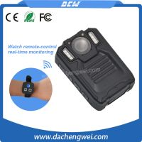 Hidden camera long time recording with 3000mAh rechargeable battery police camera body worn