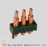 high quality pricision machining brass test pogo pins