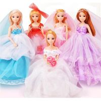 2014 Fashion wedding party gift wedding dress doll