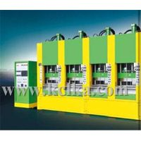 FULL-AUTOMACITC VACUUM FOAMING MOULDING MACHINE