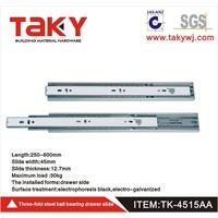 TK-4515 three fold soft close rebound touch open drawer slide thumbnail image