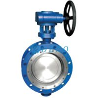 Double Eccentric Butterfly ValvePtfe Lined Butterfly Valve Double Flange Butterfly Valve