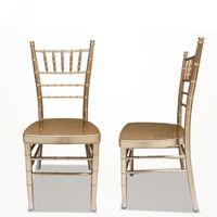 Wedding Chiavari Chair Event Party Aluminum Stacking Chair #YC-002 thumbnail image