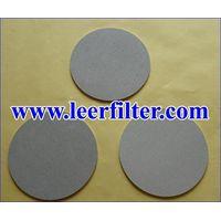 Ti Powder Filter Disc thumbnail image