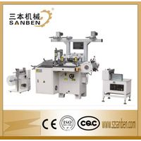 SBM-320 Self adhesive label die cuttting machine for roll materials, flatbed die cutting machine wit thumbnail image