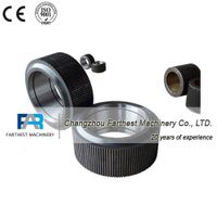 pellet machine roller assembly, feed machine steel roller thumbnail image