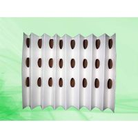 Folded dry-type filter paper