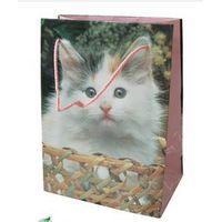 Animal printed paper bag