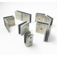 304 stainless steel precision cast glass clip