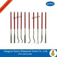 SUNVA Diamond Bent Files / Diamond Tools thumbnail image