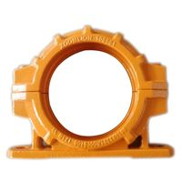 Schwing/Putzmeister Concrete Pump Pipe Clamp DN125 5-1/2'' Two Bolt Coupling For Forging thumbnail image