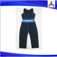 Tight thermal weight loss neoprene hot slimming body shpaer yoga pants women wear