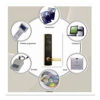 Digital fingerprint door lock hotel door lock with LCD aceess control door lock system thumbnail image