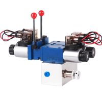 LL265 hydraulic block power pack