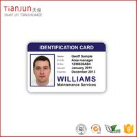 Best Quality 13.56Mhz Printable RFID Card School ID Card