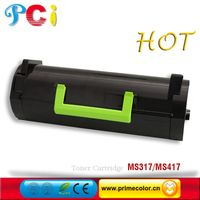 Toner Cartridge for Lexmark MS317 MX417 New build With chip