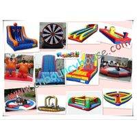 2011 hot sale inflatable sport games / Bungee run / Sumo suit / Inflatable rock climbing