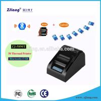 58mm Smart Mobile Phone Printer / Desktop Thermal Receipt With Bluetooth 5890T For IOS & Android Ope