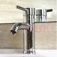 single handle brass bathroom basin sink faucet