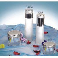 glass cosmetic  bottle