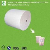 PE coated ivory board for cups