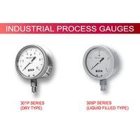 Industrial Process Pressure Gauges (301P & 305P Series)