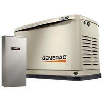 Generac Guardian 11kW Aluminum Standby Generator System (200A Service Disconnect + AC Shedding) w/ W