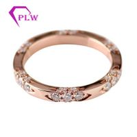 Provence gems Customized 14k gold hot sale jewelry moissanite brand ring for women thumbnail image