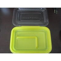 plastic lunch box(airline lunch box)