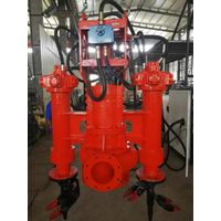 submersible electrical motor mud effluent pump submerged slurry pump with agitators thumbnail image