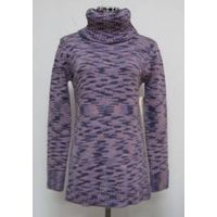 Women chunky alpaca knitted sweater for winter