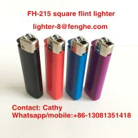 disposable square flint lighter cigarette usage FH-215