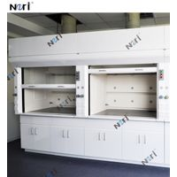 Full Steel Structure Lab Chemical Fume Hood Working Laboratory Furniture fuming cupboard ventilation