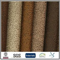 polyester bronzed pu coated laminated upholstery sofa fabric for antique furniture
