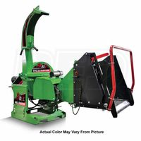 """Wallenstein (5"""") 540-1000 RPM PTO Chipper w/ Hydraulic Feed & Intellifeed System - Green thumbnail image"""