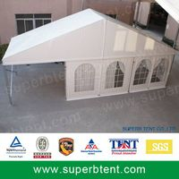 Clear window tent for diffrerent functions