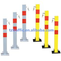 Square Car parking barrier, manual parking barrier, Removable parking barrier