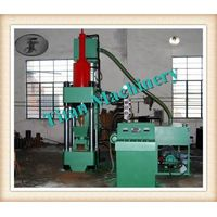 hydraulic metal briquetting press machine